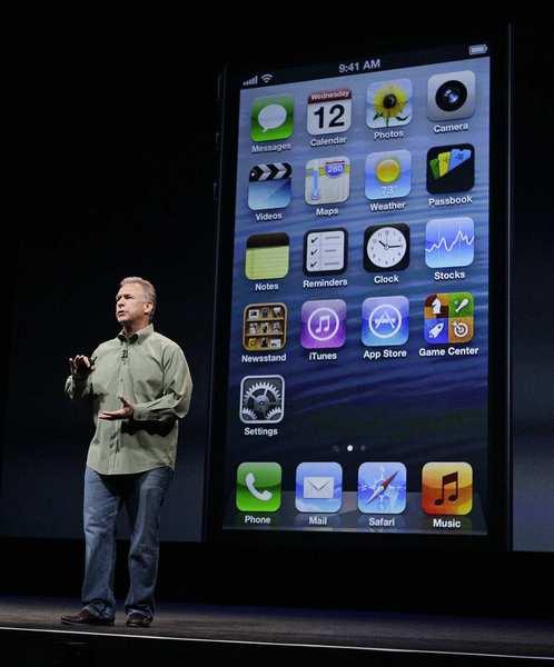 Phil Schiller Apple iPhone5 launch
